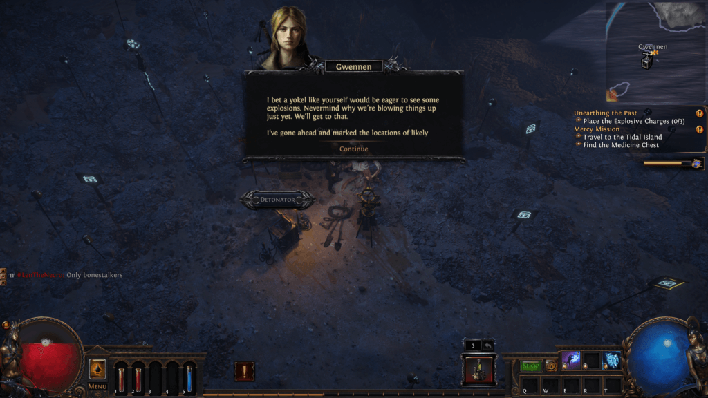 Shot of game used in the post of Path of Exile Game Review.