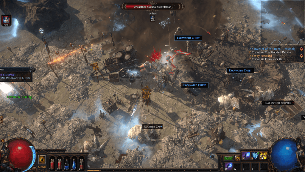 Shot taken in-game. Used in the post of Path of Exile Game Review.